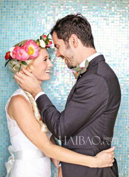深情新郎迎娶癌症新娘真爱将唯美瞬间化为永恒