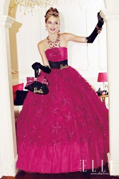 芭比公主裙打造甜美范每个女孩都是小天使