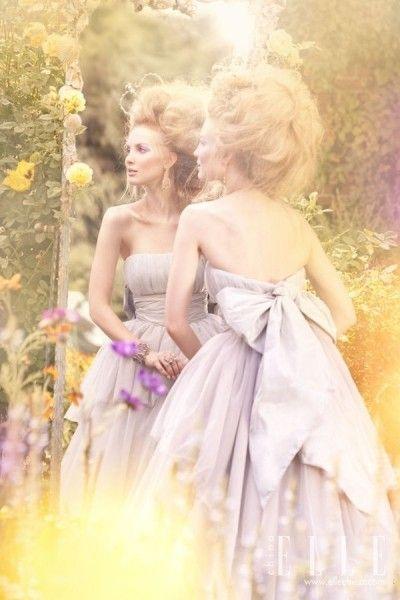 梦中里的浪漫新娘演绎童话故事里的美好画面
