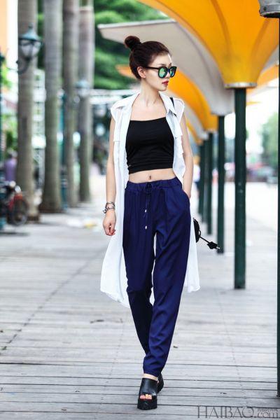 夏日必备时尚穿搭潮人教你穿出率性欧美范