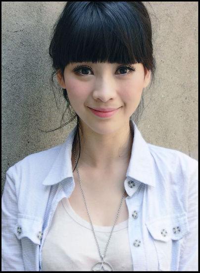 柳岩清纯甜美发型领衔女星留过的萌萌齐刘海