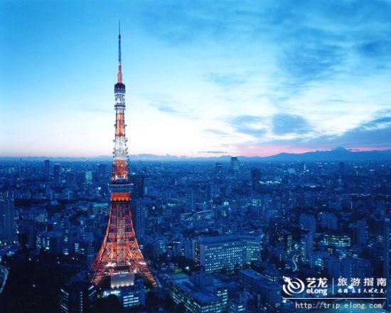 东京晴空塔——现代建筑