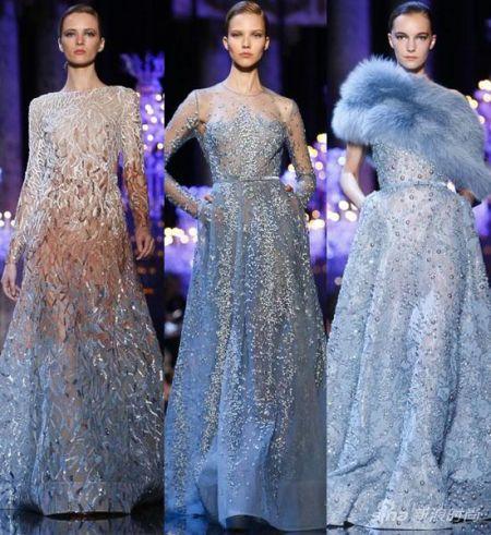 巴黎高级定制时装周华丽启幕华服仙女盛装登场