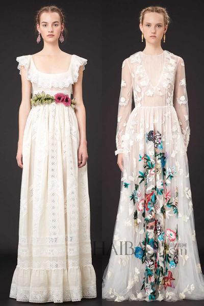 时尚新娘礼服灵感明星红毯上的华丽礼服之选