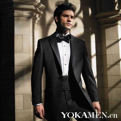 起变男神 婚宴晚礼服的时尚变身