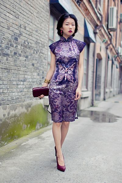 经典复古旗袍的多重演绎