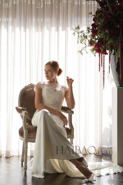 英国女王御用婚纱设计师带来梦幻新娘礼服