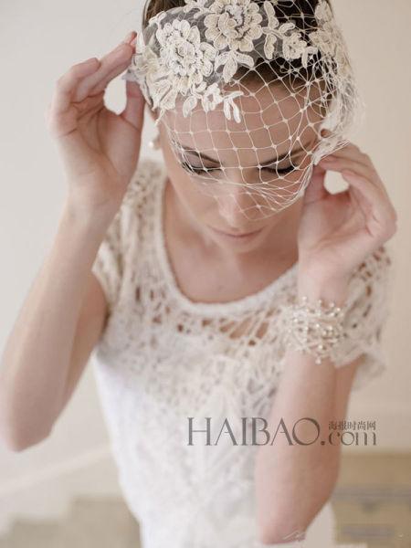 波西米亚风情手工工艺为新娘打造大日子造型