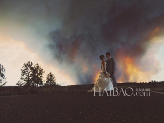 创意婚礼摄影奇异旅途中感受别样幸福(组图)