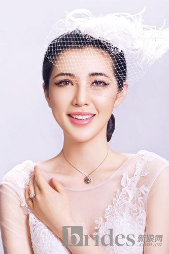 打造甜美唯美新娘赴一场珠宝的约会(组图)