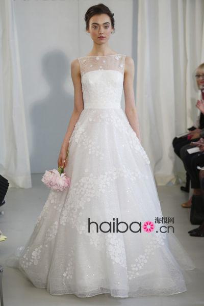 个性提花时装秀让你的嫁衣走在潮流前线(组图)