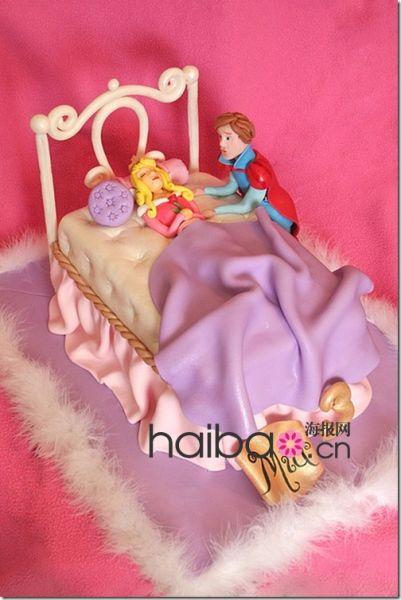 童话故事的无限美妙公主蛋糕打造婚庆典礼