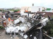 台湾客机迫降时重摔起火已致48人罹难