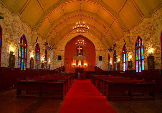 罗列西式婚礼举办地 宁波教堂见证美好爱情