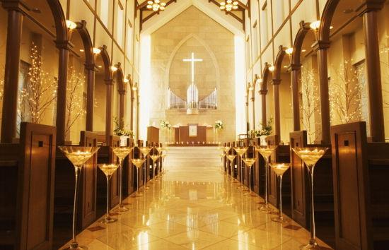 罗列西式婚礼举办地宁波教堂见证美好爱情
