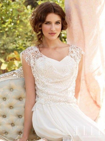 金秋复古创意小嫁衣致情展现新娘的多情美
