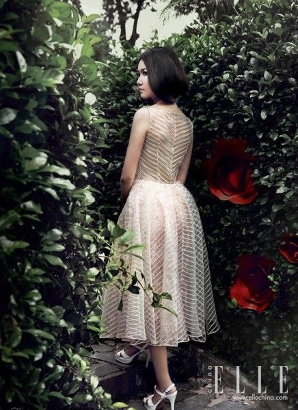 华丽的玫瑰灵感复古的婚纱礼服精选(组图)
