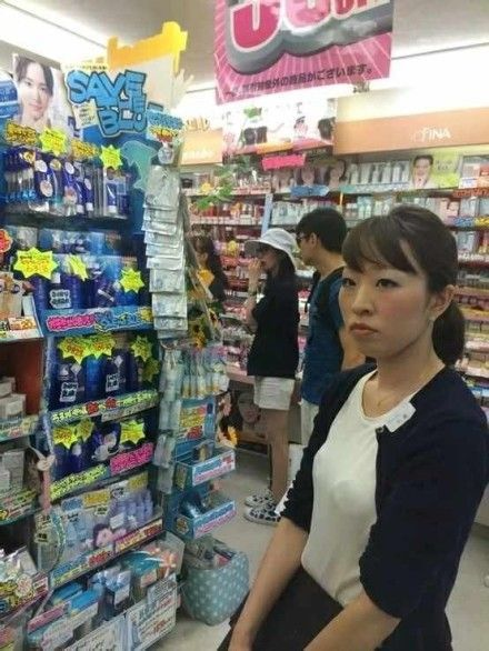 吴奇隆刘诗诗逛日本超市
