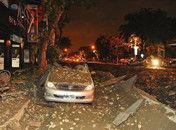 台湾高雄发生可燃气体外泄引发多次大爆炸