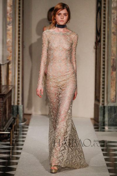 伦敦与米兰国际时装周上的新娘婚纱礼服灵感