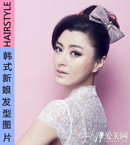 韩国潮流时尚新娘发型浪漫婚礼吸晴必备