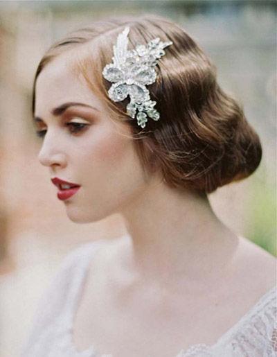 新娘潮流趋势大解读利落发型打造清爽美人