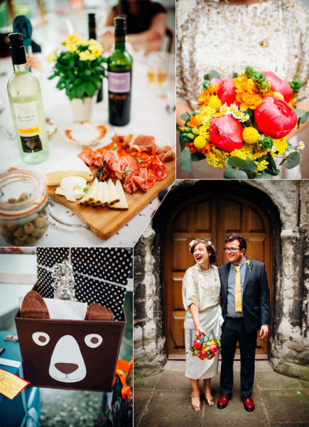 英国夫妇的玩味儿童主题婚礼筹办特色婚礼