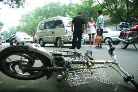 电动车事故资料图。
