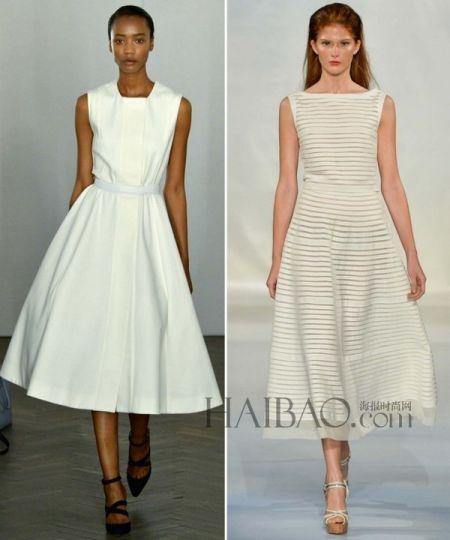 时尚经典款式为新娘们找到大日子里的最佳婚纱