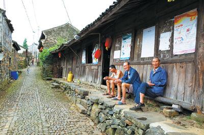 宁海茶院乡许民村上中国传统村落名单