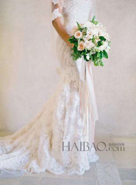绝美婚纱照拍摄角度完美嫁定格新人的动人瞬间