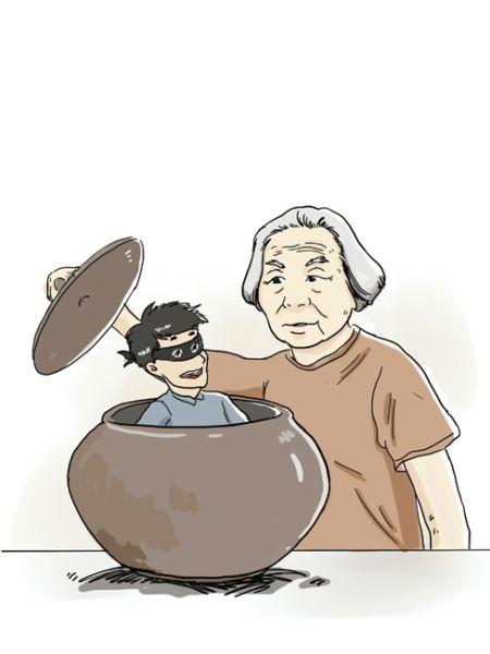 9旬老太智抓18岁小偷 民警连连点赞