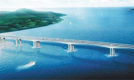 终于审查通过了三门湾大桥及接线工程主体