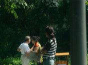 宁波公园现色情服务中年妇女招揽老年人
