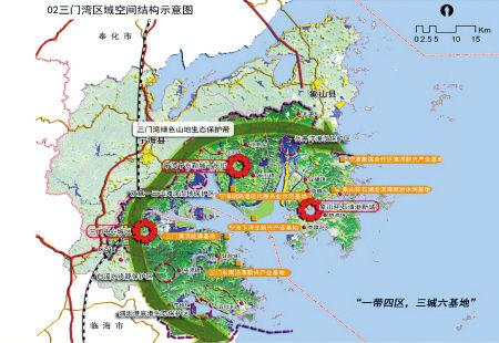 三门湾区域统筹发展规划