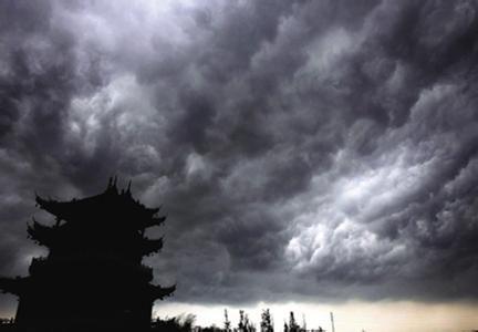 宁波雷暴天气资料图。