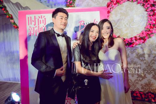 女汉子黄小蕾大婚众亲友传递温暖幸福(组图)