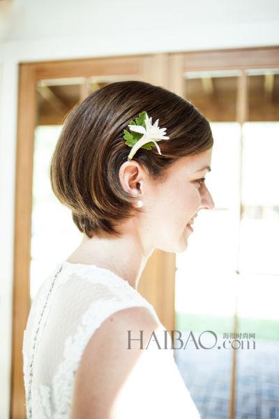 时尚杂志摄影导演的加利福尼亚私家花园婚礼