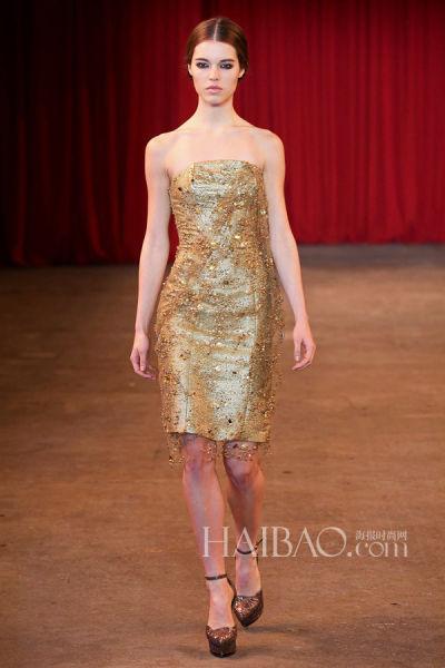回顾新一季新娘时尚灵感国际秀场的华美礼服