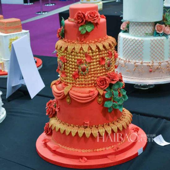 灵感手绘婚礼蛋糕带给你完美秋季婚礼体验