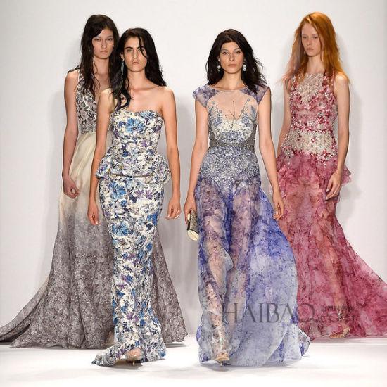 时装周上的婚礼着装灵感让T台时尚融入大日子
