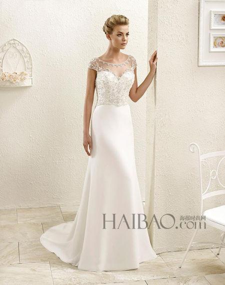 意大利米兰的新娘嫁衣以定制级标准打造礼服