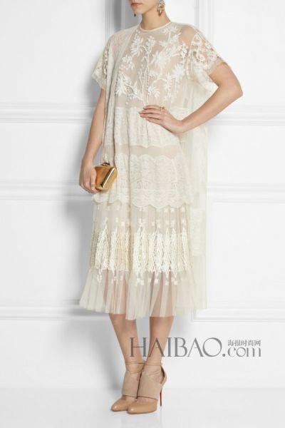 简约之中的优雅与浪漫带来新娘礼服之选