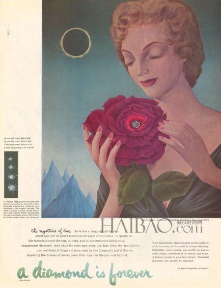 戴比尔斯珠宝百年传承璀璨光影传达爱与永恒
