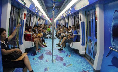 宁波轨交海底世界专列 资料图