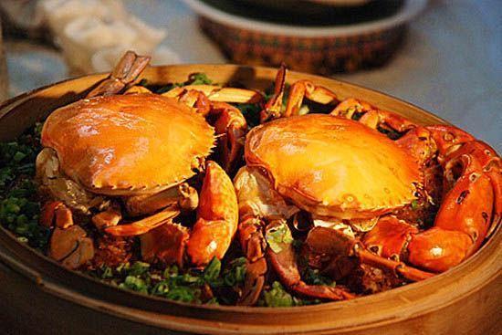 """旅游 旅游资讯 正文    品蟹:海南的螃蟹当属海蟹中的""""头领""""."""