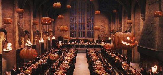 电影中的餐厅