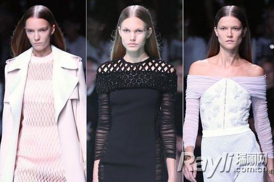 巴黎时装周刮起自然直发风柔润蓬松是关键
