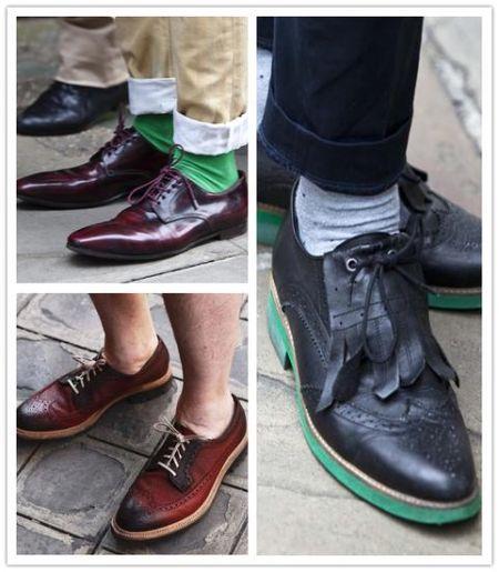 细节成就王道揭秘男士鞋面上的时尚(组图)