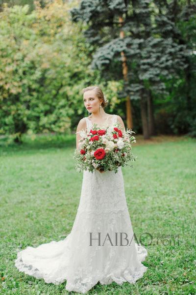 秋季复古婚礼讲述一场俄罗斯风情的童话仪式